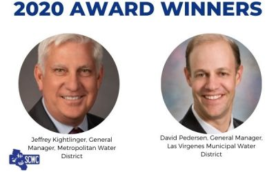 Jeffrey Kightlinger and David Pedersen Win SCWC's 2020 Honorary Awards