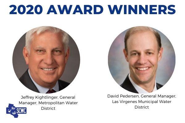 Jeffrey Kightlinger and David Pedersen Win SCWC's 2020 Honorary Awards