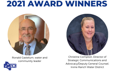 Southern California Water Coalition Honored Ronald Gastelum and Christine Compton at Annual Awards