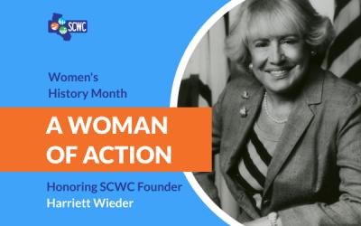 Women's History Month Spotlight on Harriett Wieder
