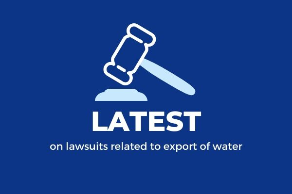 latest on lawsuits related to California water exports