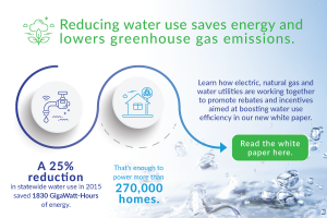 Water Energy Efficiency Infographic